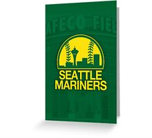 Seattle Sports Mashup Greeting Card