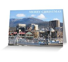 Constitution Dock Hobart Greeting Card