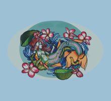 mermaid shirt. by resonanteye