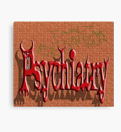 Psychiatry Canvas Print