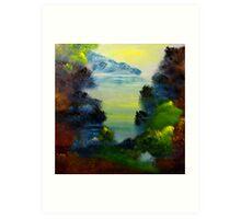 Bass Lake Art Print