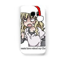 Your breasts have ruined my christmas! Hat version (Yuru yuri) Samsung Galaxy Case/Skin