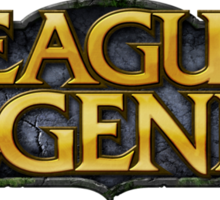 League of Legends Logo Sticker