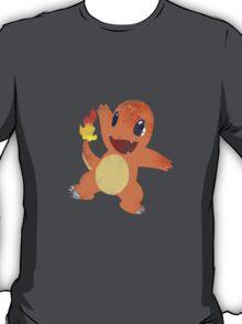 Stencil Charmander T-Shirt