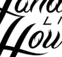 hands like houses logo Sticker