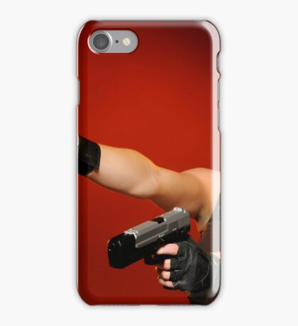 Guns Girl iPhone Case/Skin
