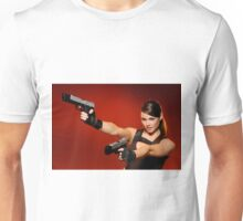 Guns Girl Unisex T-Shirt