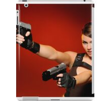 Guns Girl iPad Case/Skin