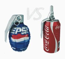 Pepsi Vs Coca Cola by richardoh