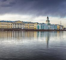 St Petersburg Museums across the Neva by pixog