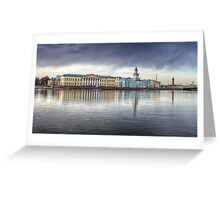 St Petersburg Museums across the Neva Greeting Card