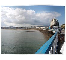 Along the Pier Poster