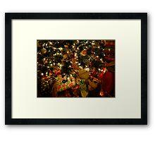Christmas Morning Magic Framed Print