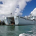 RFA Mounts Bay (L3008), Falmouth Docks by Rod Johnson