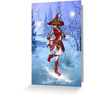 Snow Witch Greeting Card