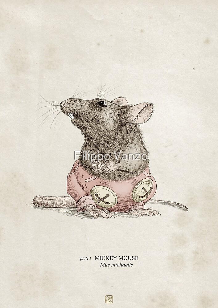 Real Life Mickey Mouse - Natural History Variant by Filippo Vanzo
