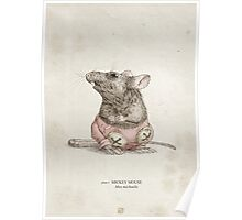 Real Life Mickey Mouse - Natural History Variant Poster