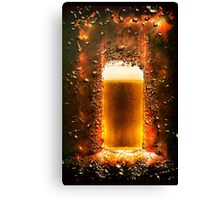 Everyone should believe in something. I believe I will have another beer  Canvas Print