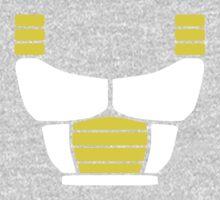 Minimalist Saiyan armor (v2) Kids Tee