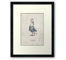 Real Life Donald Duck - Natural History Variant Framed Print