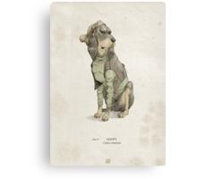 Real Life Goofy - Natural History Variant Canvas Print