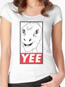 YEE Women's Fitted Scoop T-Shirt