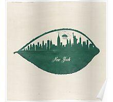 New York Skyline at Sunrise Poster