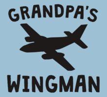 Grandpa's Wingman One Piece - Short Sleeve