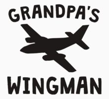 Grandpa's Wingman One Piece - Short Sleeve