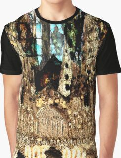 LICHFIELD CATHEDRAL ABSTRACT Graphic T-Shirt