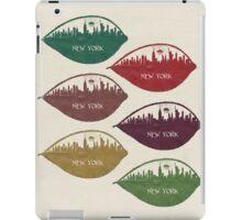 New York Skyline at Sunrise iPad Case/Skin