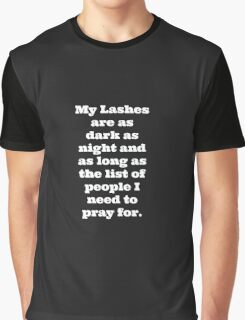My Lashes Graphic T-Shirt