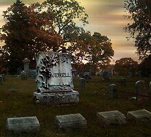 The Jewell Plot, Sleepy Hollow Cemetery by Jane Neill-Hancock