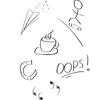 Louis Tomlinson tattoos - set of 6 (part1) [see products for more layouts] Photographic Print