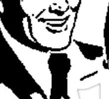 Retro Radio Host Sticker