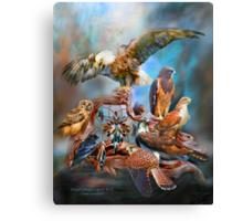 Dream Catcher - Spirit Birds Canvas Print