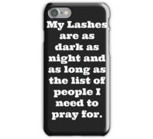 My Lashes iPhone Case/Skin