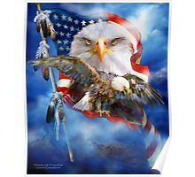 Eagle - Vision Of Freedom Poster