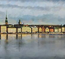 Stockholm from the Sea by Kai Saarto