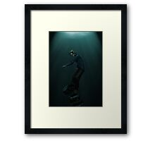 The Rust Coloured Soil. The Waterfront Framed Print
