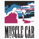 American Muscle Car by GKuzmanov