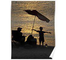 the sun is shining... el sol esta brillando Poster