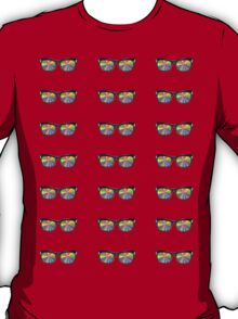 Color glasses stickers T-Shirt