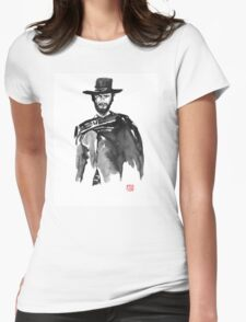 clint 2 Womens Fitted T-Shirt