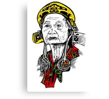 Dayak people Canvas Print