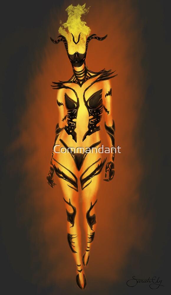 Flame Atronach by Commandant