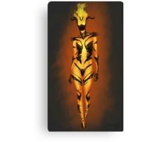 Flame Atronach Canvas Print