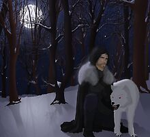 Jon Snow by Kallian