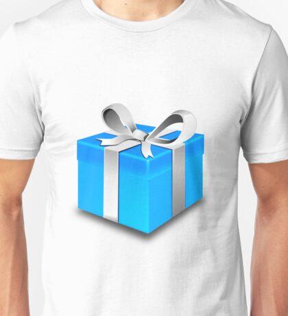 Blue Gift Box Unisex T-Shirt