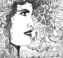 Vision On [Original Pen drawing] by Grant Wilson